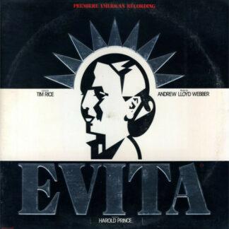 Andrew Lloyd Webber And Tim Rice - Evita: Premiere American Recording (2xLP, Album, Glo)