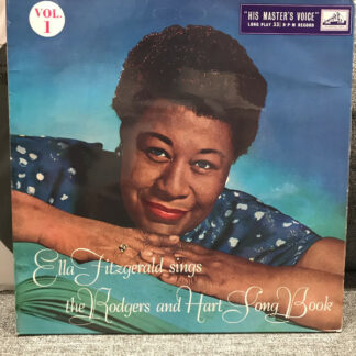 Ella Fitzgerald - Ella Fitzgerald Sings The Rodgers And Hart Song Book Vol.1 (LP, Mono, RE)