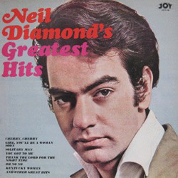 Neil Diamond - Neil Diamond's Greatest Hits (LP, Comp, RE, Red)