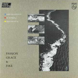 John McLaughlin - Al Di Meola - Paco De Lucía - Passion, Grace & Fire (LP, Album)