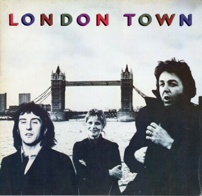 Wings (2) - London Town (LP, Album)
