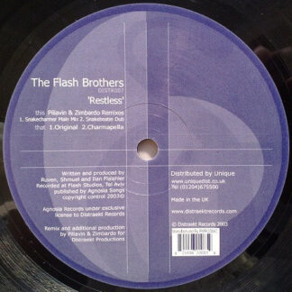 """The Flash Brothers* - Restless (12"""")"""