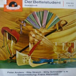 """Carl Millöcker - Der Bettelstudent (Querschnitt) (7"""", EP, Mono, RE)"""