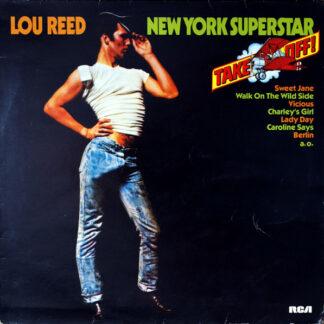 Lou Reed - New York Superstar (LP, Comp)