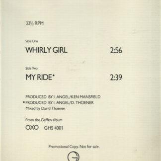 "OXO (2) - Whirly Girl (12"", Promo)"