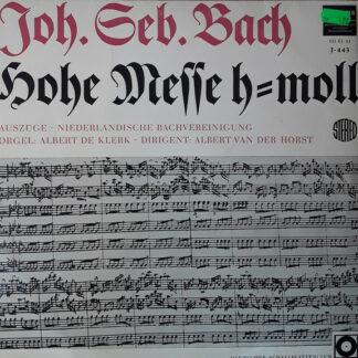 Johann Sebastian Bach - Hohe Messe - Auszüge (LP, Club)