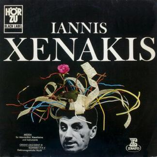 Iannis Xenakis - Medea / Orient-Okzident III / Konkret P-H II (LP)
