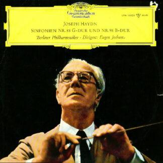 Joseph Haydn, Berliner Philharmoniker, Eugen Jochum - Sinfonien Nr. 88 G-Dur Und Nr. 98 B-Dur (LP, Mono)