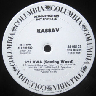 "Kassav' - Syé Bwa (12"", Promo)"