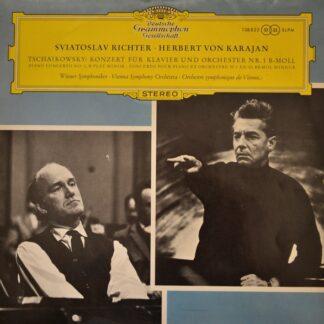 Tschaikowsky* - Sviatoslav Richter, Herbert Von Karajan, Wiener Symphoniker - Konzert Für Klavier Und Orchester Nr. 1 B-Moll (LP, RE)