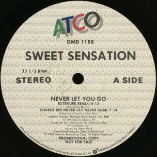 """Sweet Sensation - Never Let You Go (12"""", Promo)"""