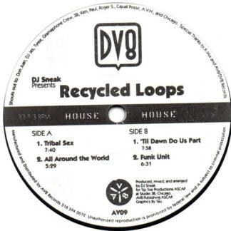 """DJ Sneak - Recycled Loops (12"""")"""