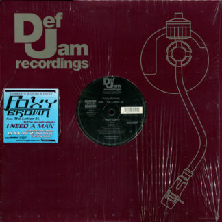 """Foxy Brown Feat. The Letter M. - I Need A Man (12"""")"""