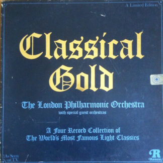 The London Philharmonic Orchestra - Classical Gold (4xLP, Comp, Ltd + Box)
