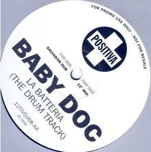 """Baby Doc - La Batteria (The Drum Track) (12"""", Promo)"""
