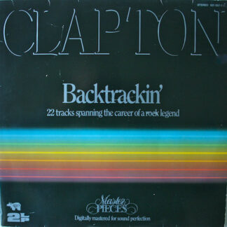 Eric Clapton - Backtrackin' (22 Tracks Spanning The Career Of A Rock Legend) (2xLP, Comp, Gat)
