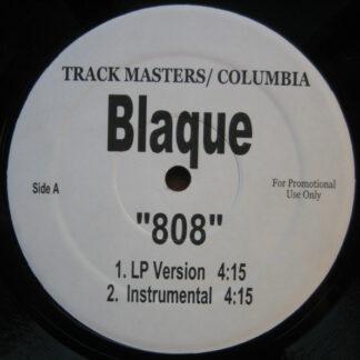"""Blaque (2) - 808 (12"""", Promo)"""