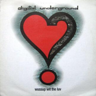 "Digital Underground - Wussup Wit The Luv (12"", Promo)"