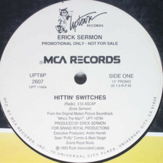 "Erick Sermon - Hittin' Switches (12"", Promo)"