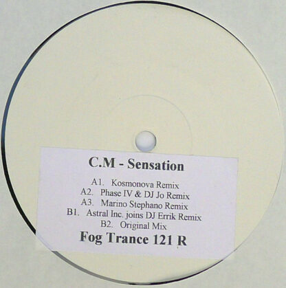 "C.M* - Sensation  (12"", W/Lbl, Sti)"