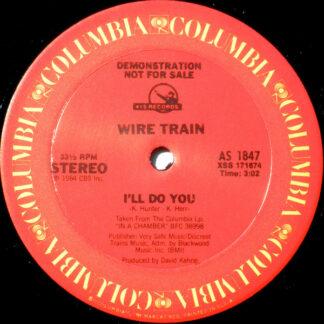"""Wire Train - I'll Do You (12"""", Promo)"""