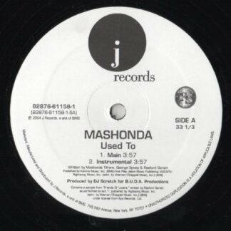 """Mashonda - Used To (12"""")"""