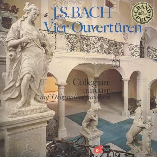 J.S. Bach*, Collegium Aureum - Vier Ouvertüren Auf Originalinstrumenten (2xLP, Album, RP)