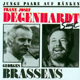 Franz Josef Degenhardt - Junge Paare Auf Bänken (Franz Josef Degenhardt Singt Georges Brassens) (LP, Album)