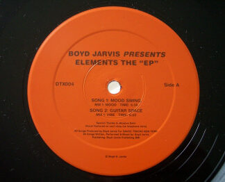 """Boyd Jarvis - Elements The """"EP"""" (12"""", EP)"""
