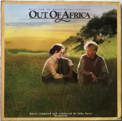 John Barry - Out Of Africa (Music From The Motion Picture Soundtrack) (LP, Album)
