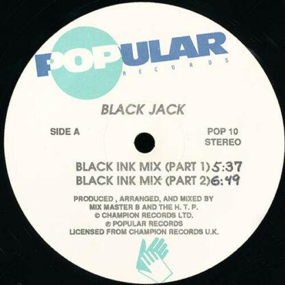 """Black Jack (7) - Black Ink Mix (12"""")"""