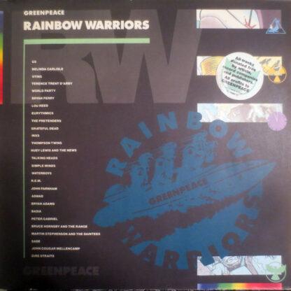 Various - Greenpeace Rainbow Warriors (2xLP, Comp, Gat)