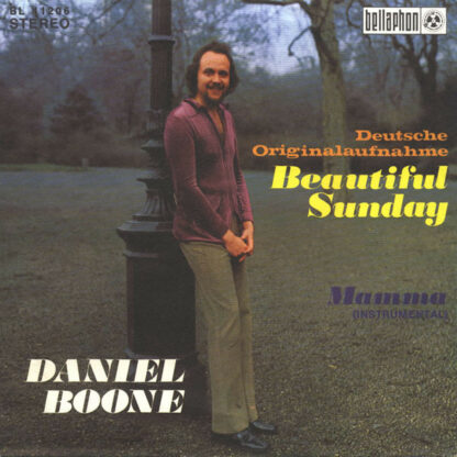 "Daniel Boone - Beautiful Sunday (7"", Single)"