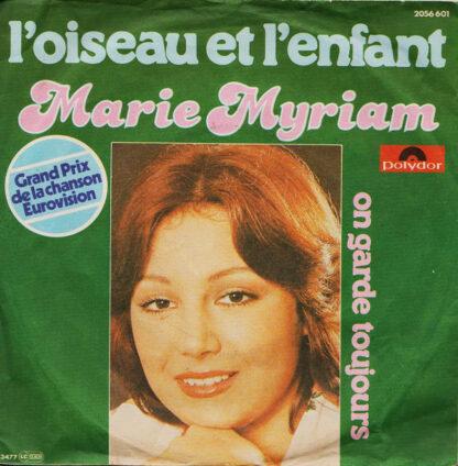 """Marie Myriam - L'Oiseau Et L'Enfant (7"""", Single)"""