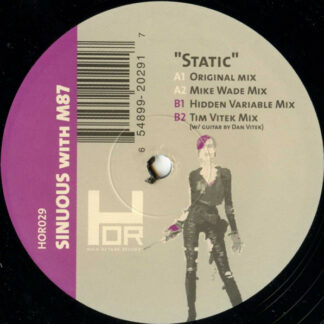 """Sinuous With M87 (2) - Static (12"""")"""