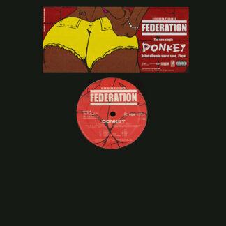 "Federation - Donkey / What If I Had A Gun (12"", Promo)"