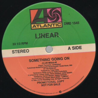 """Linear - Something Going On (12"""", Promo)"""