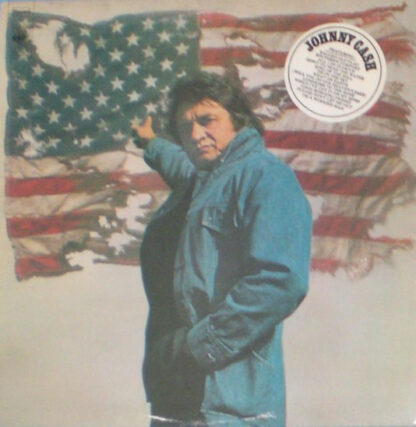 Johnny Cash - Ragged Old Flag (LP, Album)