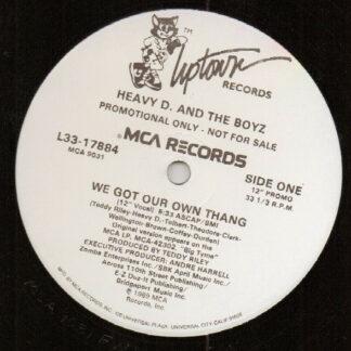 "Heavy D. & The Boyz - Who's The Man? (12"", Single, Promo)"