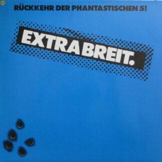 Extrabreit - Rückkehr Der Phantastischen 5! (LP, Album, Blu)