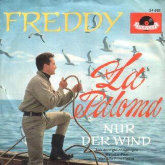 "Freddy* - La Paloma (7"", Single, Mono)"