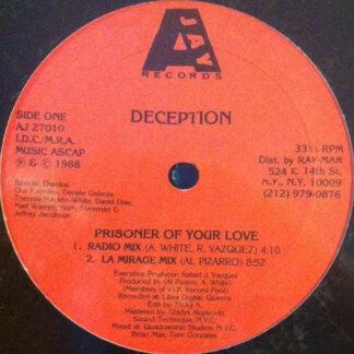 """Deception (3) - Prisoner Of Your Love (12"""")"""