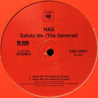 "Nas - Salute Me (The General) (12"", Single)"