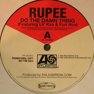 "Rupee - Do The Damn Thing (12"", Promo)"