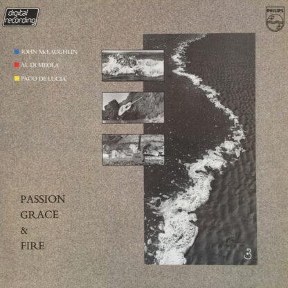 John McLaughlin, Al Di Meola, Paco De Lucia* - Passion, Grace & Fire (LP, Album)