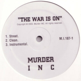 "Murder INC* - The War Is On / Guess Who Shot Ya'? (12"")"
