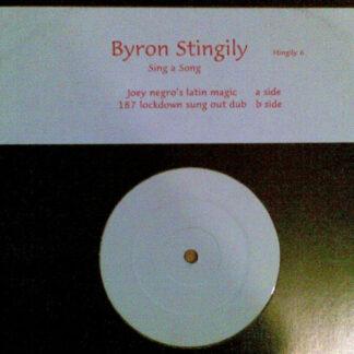 "Byron Stingily - Sing A Song (12"")"