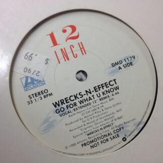 """Wrecks-N-Effect - Go For What U Know (12"""", Promo, AR )"""