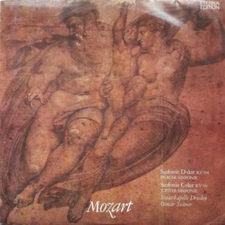 Mozart*, Staatskapelle Dresden, Otmar Suitner - Sinfonie D-dur KV 504 (Prager Sinfonie) / Sinfonie C-dur KV 551 (Jupiter-Sinfonie) (LP)