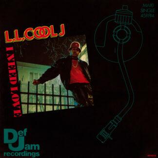 """L.L. Cool J* - I Need Love (12"""", Maxi)"""
